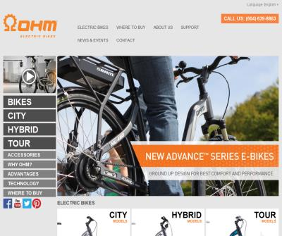 OHM Cycles Electric Bicycles