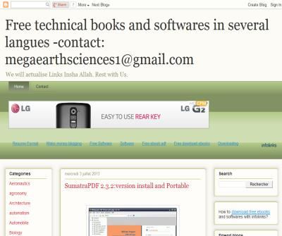 technical books and softwares in several langues