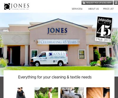 Jones Cleaning Centers Inc