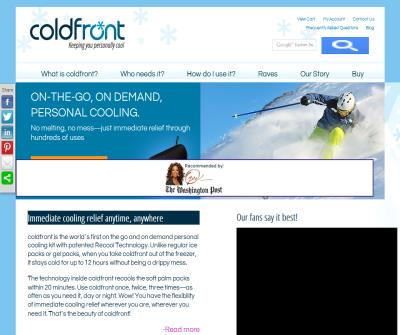 coldfront: we make menopause cool