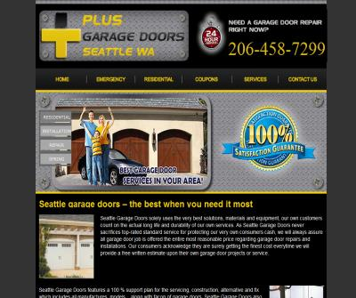 Plus Garage Door Repair Seattle
