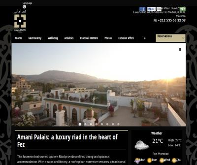 Palais Amani: A luxury Riad in the heart of Fez