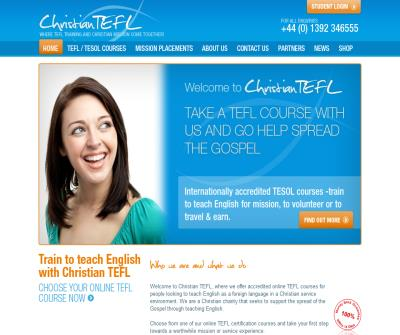 Online TEFL courses for Christians