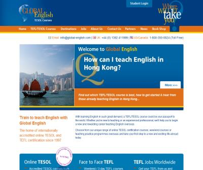 Global English TESOL Courses