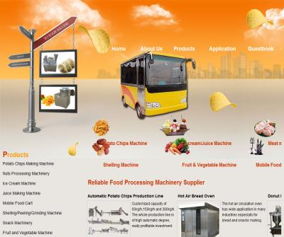Renowned supplier for food processing machine