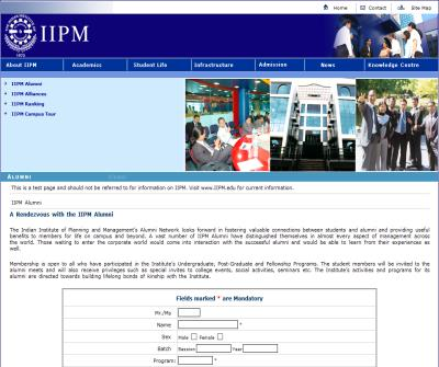 IIPM Undergraduate/ Post-graduate Management Programs