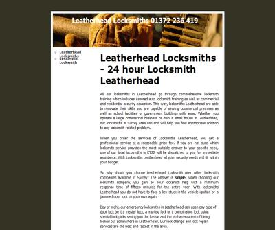 Locksmith Leatherhead