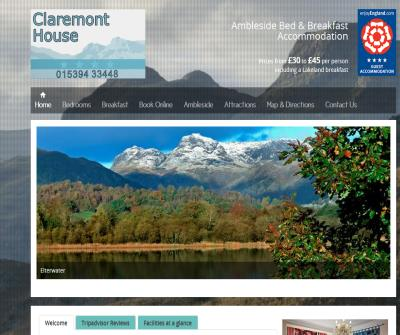 Claremont House B&B in Ambleside