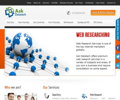Ask Datatech - Data Entry & Data Conversion