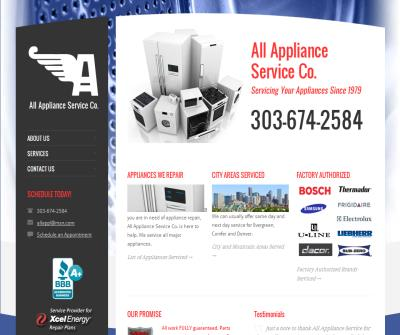 All Appliance Service Co