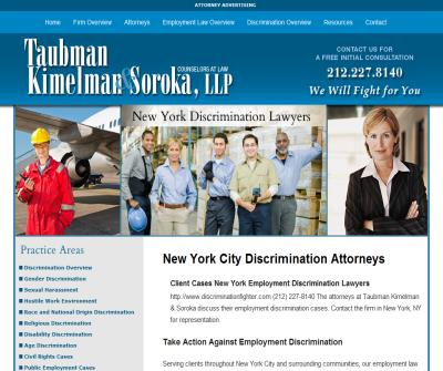 Employment Discrimination Lawyer NYC