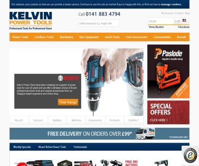 Kelvin Power Tools - Professional Tools for Professional Users