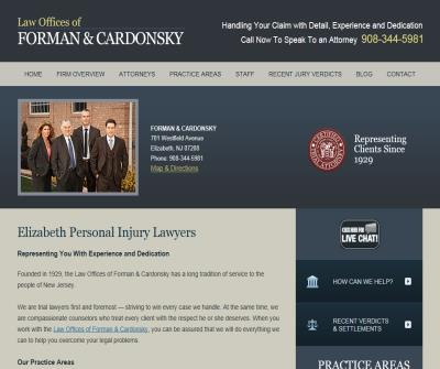 Elizabeth Personal Injury Attorney