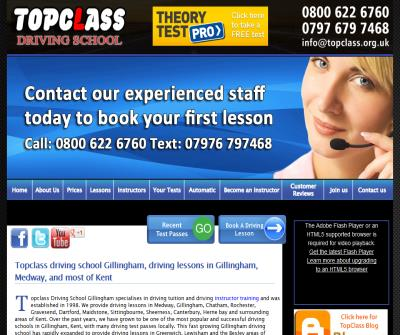 Topclass driving school,driving lessons by fully qualified driving instructors