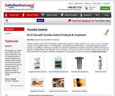Do It Yourself Termite Control