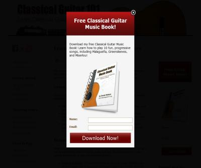 Classical Guitar 101 - learn to play classical guitar