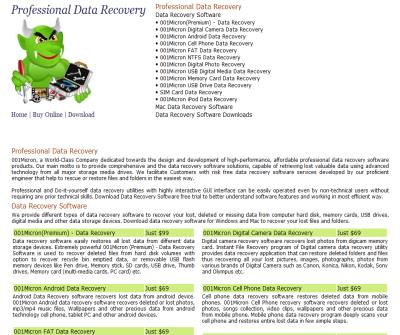 Professional data recovery tools