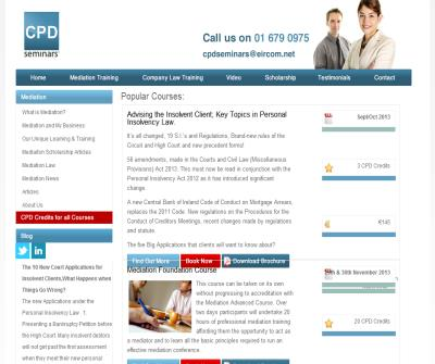 Mediation in Ireland - CPD Courses