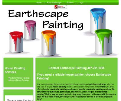 Earthscape House Painting