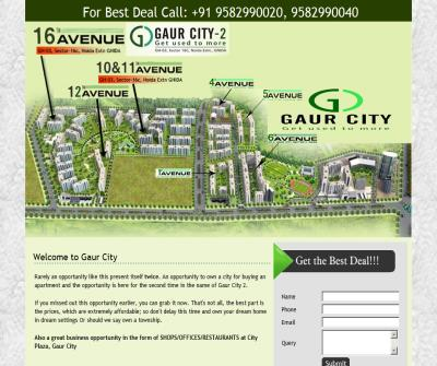 Gaur city, Gaur City Noida, 16th Avenue, 11th Avenue