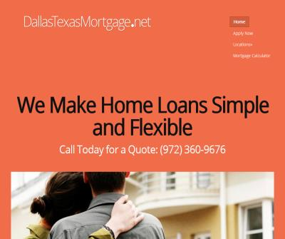 Dallas Texas Mortgage