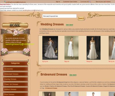 Wedding Dresses for you!