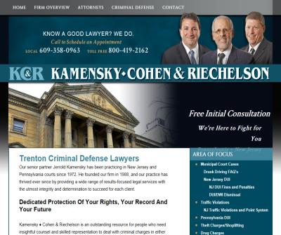 Trenton Criminal Defense Attorney