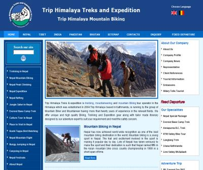 Trekking in Nepal, Treks Expedition Nepal, Nepal Mountain Biking