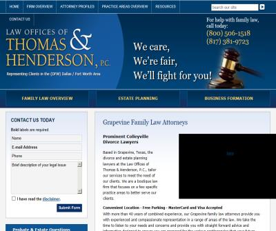 Child Custody Lawyers Grapevine
