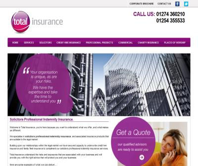 Total Insurance - Solicitors Indemnity Insurance