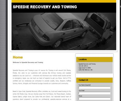 Speedie Recovery & Towing