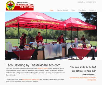 Taco Catering & Taco Cart Catering