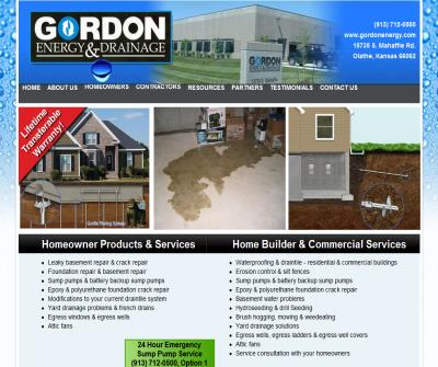 Gordon Energy and Drainage