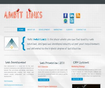 Ambit Links - The house of quality web development and SEO