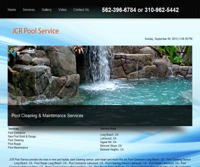 Pool Contractor - Pool Cleaning Service - Pool Repair