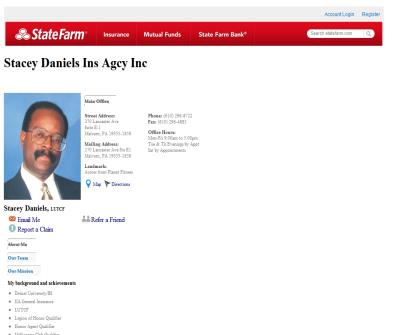 Stacey Daniels - State Farm Insurance Agent