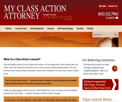 Class Action Attorneys California