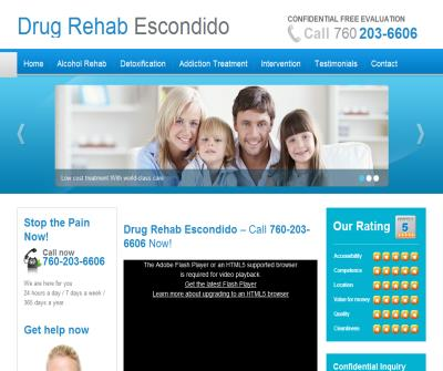 Drug Rehab Escondido CA
