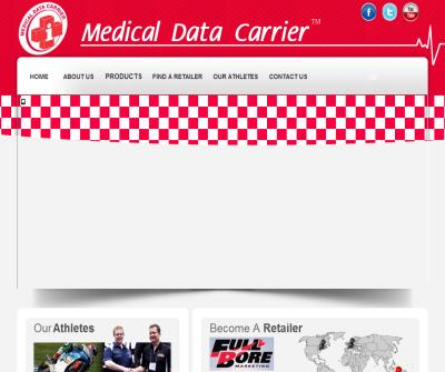 Medical Data Carrier IM Inc-Helmet ID Tag