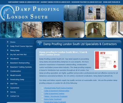 Basement waterproofing contractors in London - Damp Proofing London South Ltd