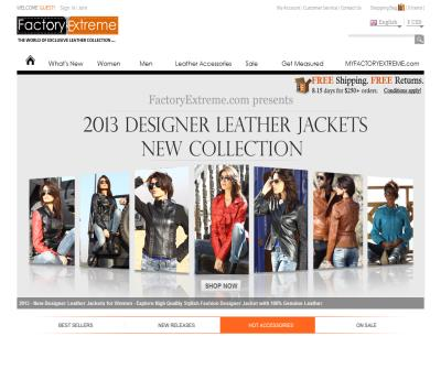 FactoryExtreme - Leather Jackets Designer