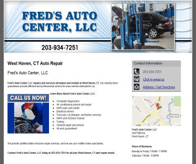 Fred's Auto Center LLC