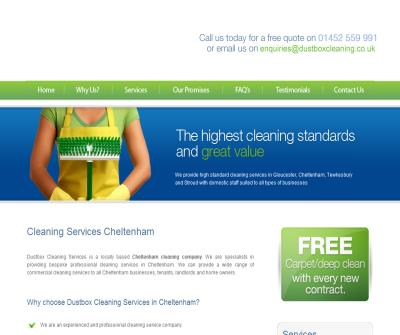 Dustbox Cleaning-Clening companies Cheltenham