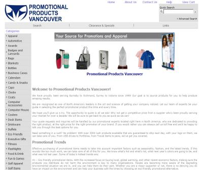 Promotional Products Vancouver