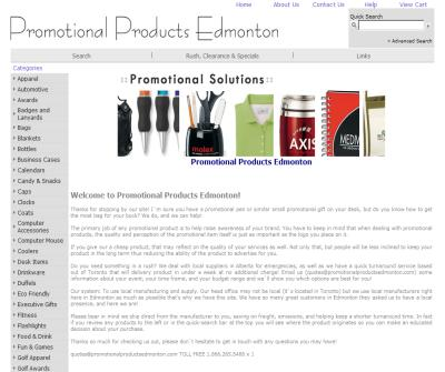 Promotional Products Edmonton
