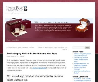 Jewelry Display Racks