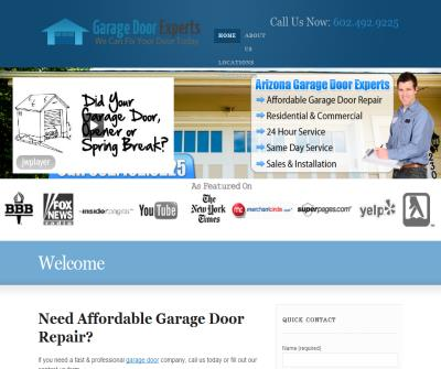 Arizona Garage Door Experts
