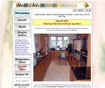 Stone Arts Ltd Granite Worktops