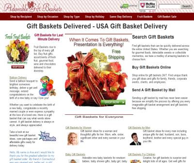 Gift Baskets Delivered, Gift Basket Delivery