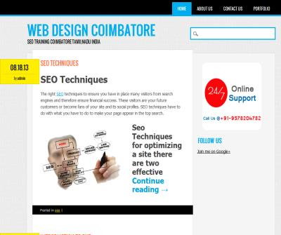 seo training in coimbatore